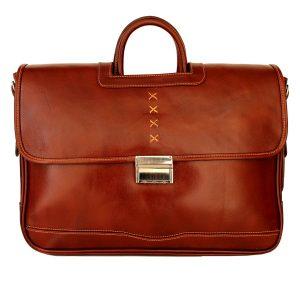 کیف زنانه دو دسته چرم طبیعی
