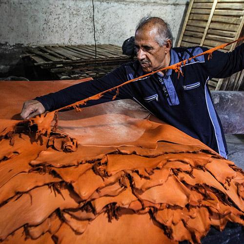 تاریخچه صنعت چرم در ایران