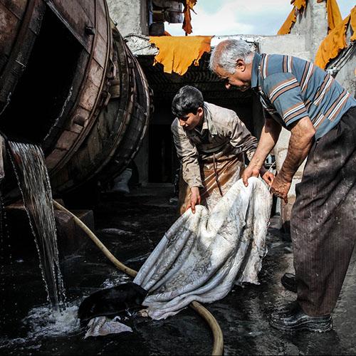 صنعت چرم در ایران