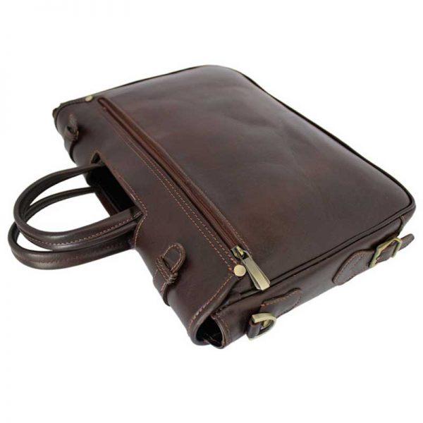 کیف اداری چرمی دو دسته