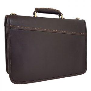 کیف اداری چرم طبیعی مردانه قفل مخفی