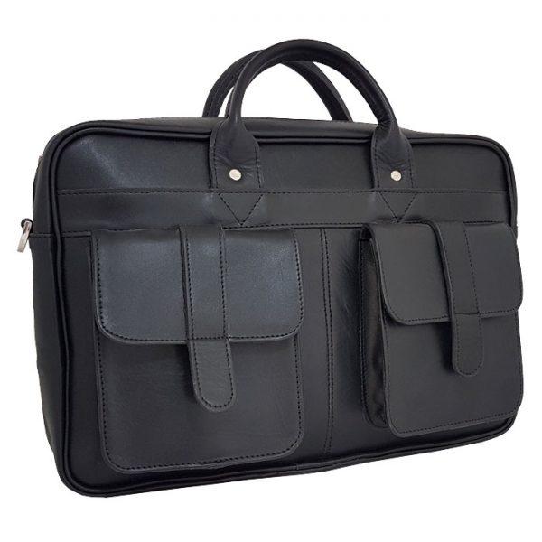 کیف اداری اسپورت دو دسته چرم طبیعی مردانه و زنانه