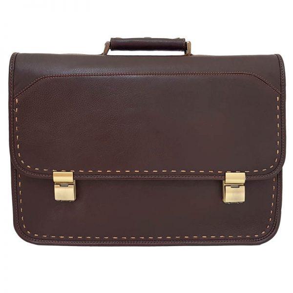 کیف اداری و لپ تاپ چرم طبیعی فاخر