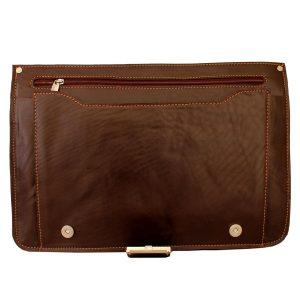 کیف چرم تک قفل مردانه