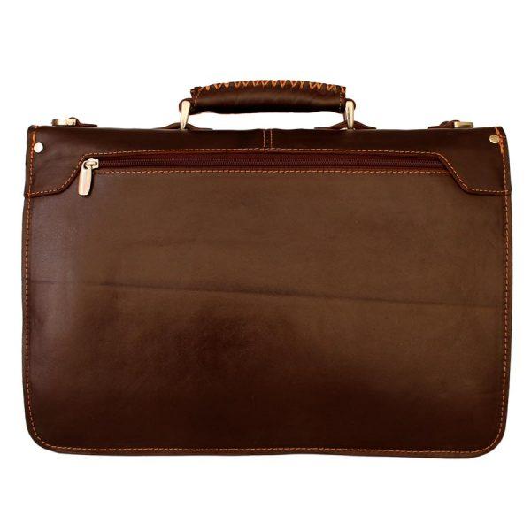 کیف چرمی قفل رمزدار مردانه