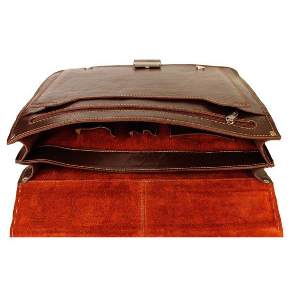 کیف رمزدار چرم طبیعی