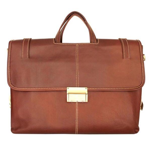 کیف اداری دو دسته چرمی