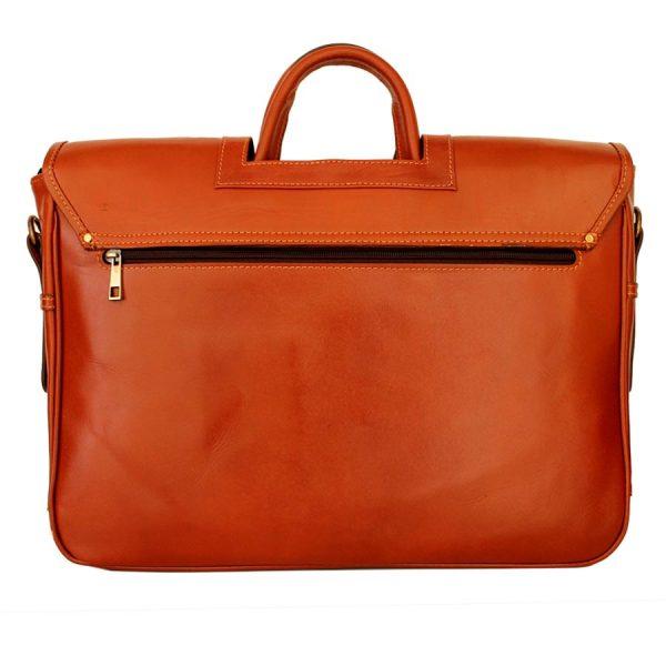 کیف مردانه دو دسته چرم طبیعی