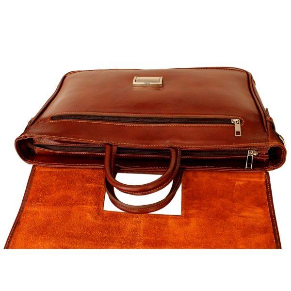 کیف 2 دسته چرم طبیعی مردانه
