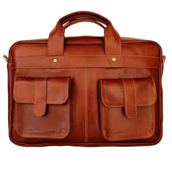 کیف اداری اسپرت چرم طبیعی