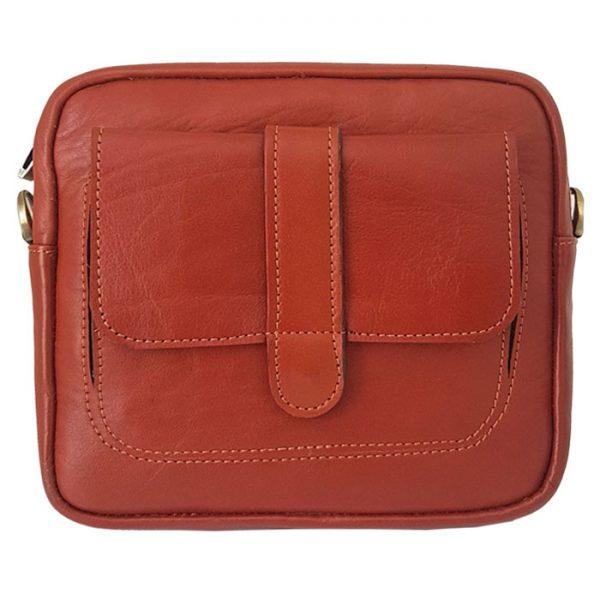 کیف دوشی اسپرت چرمی سایز کوچک