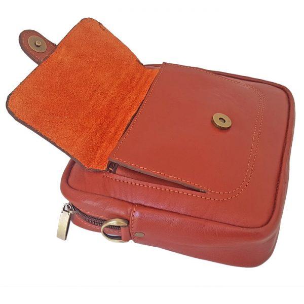 کیف رو دوشی چرم زنانه