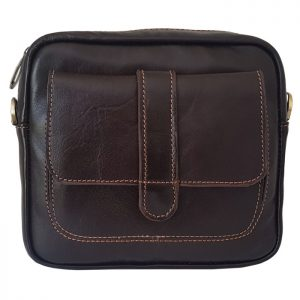 کیف رو دوشی چرم مردانه