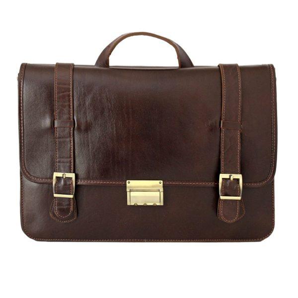 کیف اداری 2 رو چرم مردانه