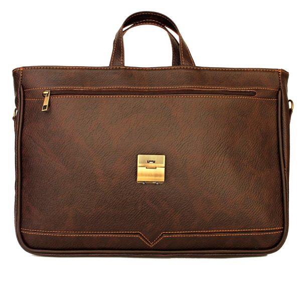 کیف چرم مصنوعی زنانه دو دسته