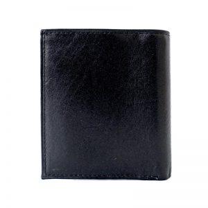 کیف پول چرم جیبی مردانه مشکی