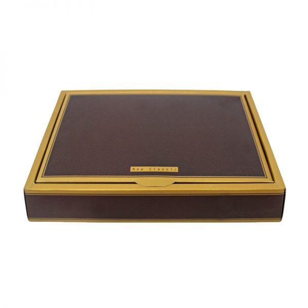 جعبه ست کیف پول جیبی و کمربند چرم مردانه