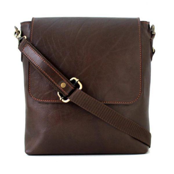 کیف دوشی چرم طبیعی مردانه و زنانه