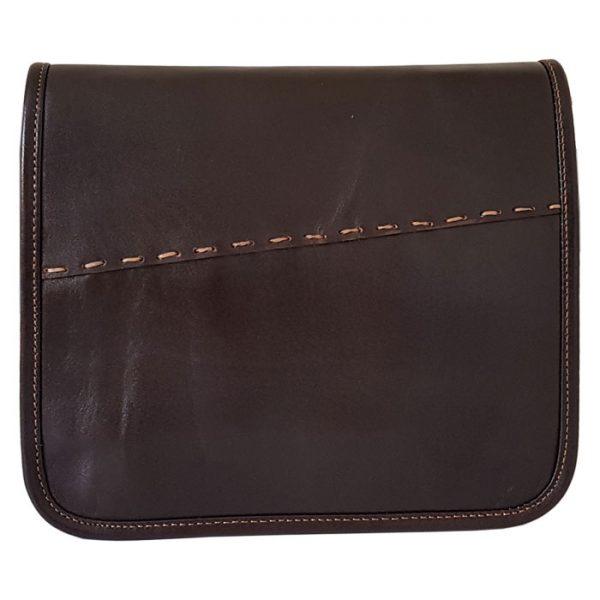 کیف دوشی چرم طبیعی مردانه و زنانه اسپرت