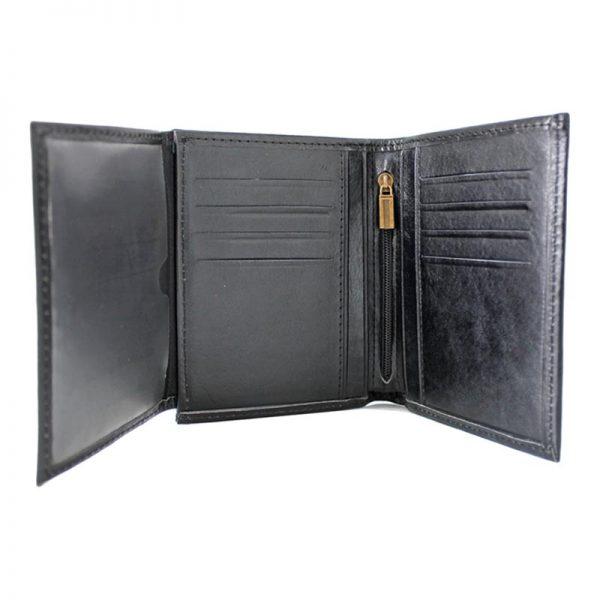 کیف جیبی چرم مردانه مشکی