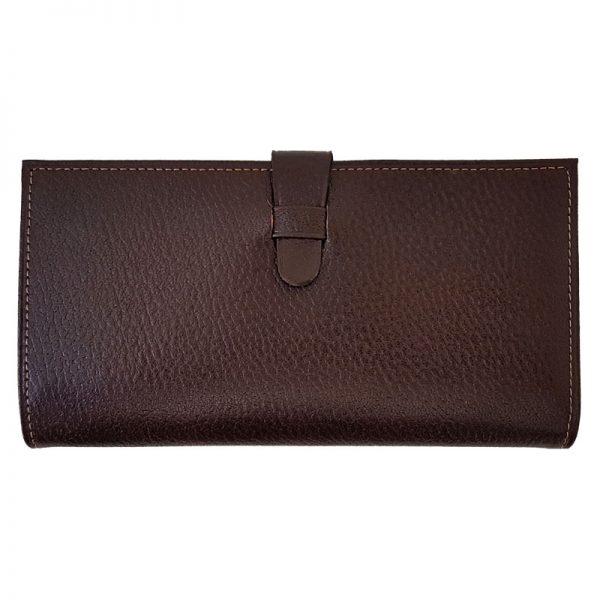 کیف پول مدیران چرم مردانه زبانه دار