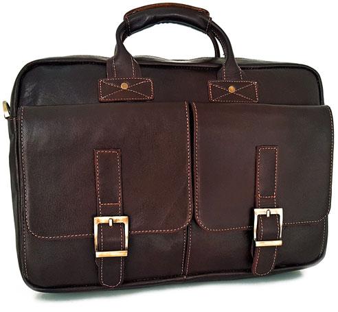 خرید آنلاین فروش ویژه کیف اداری چرم طبیعی اسپرت دو دسته مردانه و زنانه