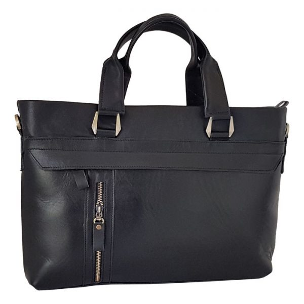کیف اداری چرم طبیعی زنانه مشکی
