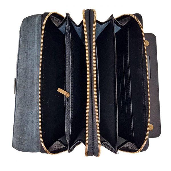 کیف دستی چرم طبیعی مردانه