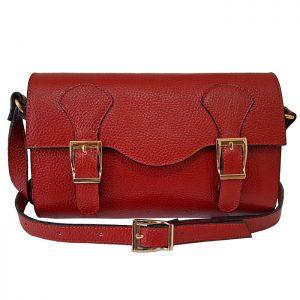 کیف مجلسی دستی چرم طبیعی زنانه