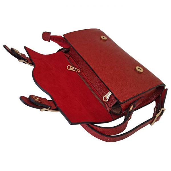 کیف دستی تمام چرم طبیعی زنانه