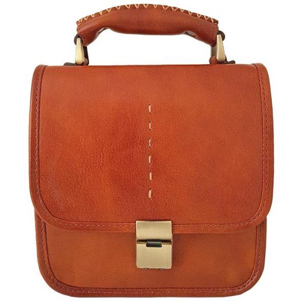 کیف پاسپورتی و دسته دار چرمی طبیعی